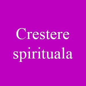 Crestere spirituala