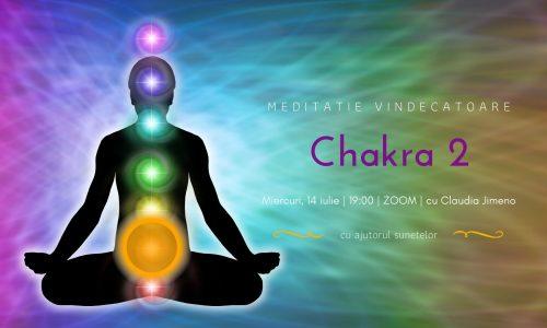 Meditatie cu sunete chakra 2 cu Claudia Jimeno