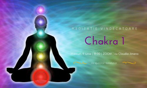 Meditatie cu sunete chakra 1 cu Claudia Jimeno
