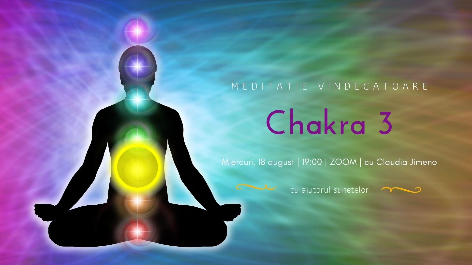 Crestere spirituala meditatie de vindecare chakra a 3-a