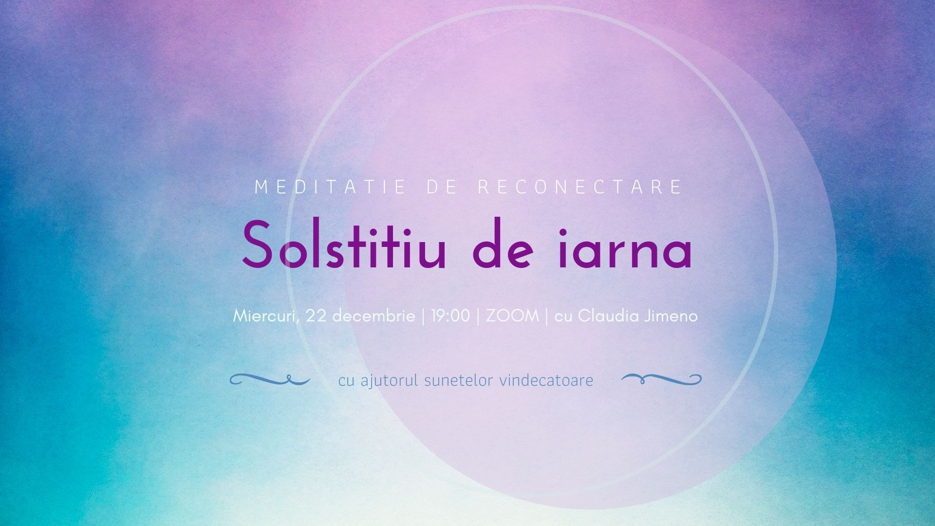 Meditatie de conectare cu solstitiul de iarna