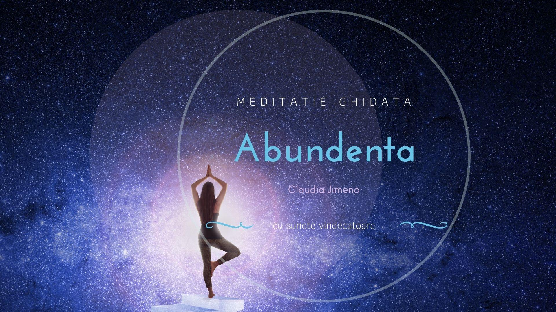 Meditatie ghidata abundenta