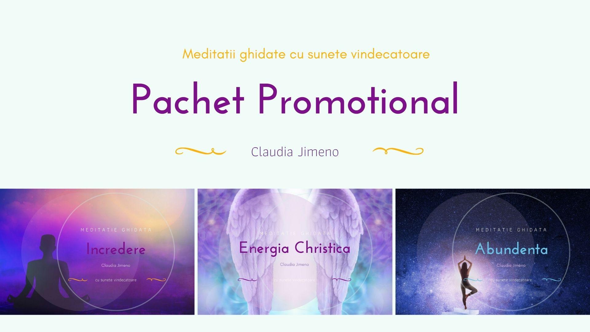 Pachet promotional meditatii